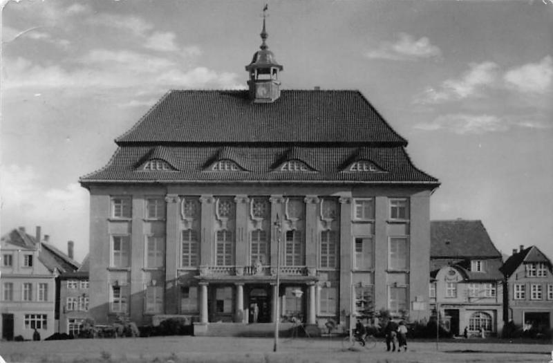 Malchin Rathaus Town Hall Front view