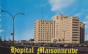 Exterior,  Hopital Maisonneube,  Montreal,  Quebec,  Canada,  40-60s