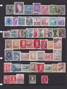 Argentina Army Military Service Antique Stamp Bundle Job Lot