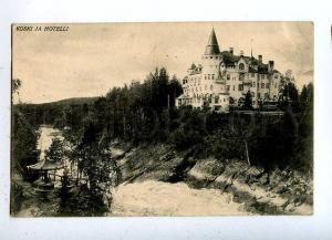 131654 FINLAND Imatra Koski ja Hotelli HOTEL Vintage postcard