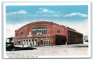 Postcard Exposition Building, Portland ME Maine 1920 G33