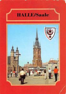 Halle Saale Markt Commerce Promenade Church Kirche