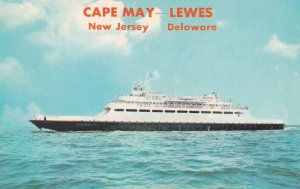 Luxury Passenger At Cape May New Jersey - Lewes Delaware, 1940s-Present