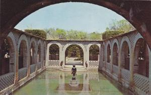 Interior Garden and pool house,  Brookgreen Gardens,  South Carolina,  40-60s