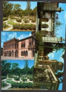 FL Lot 5 Postcards Ringling Museum SARASOTA FLORIDA
