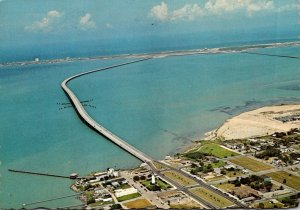 Texas South Padre Island Queen Isabella Causeway 1979
