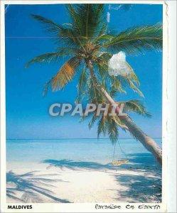 Postcard Modern Maldives Paradise on Earth
