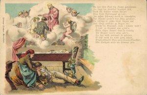 Germany Angel Postcard Litho 04.37