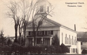 Connecticut Thomaston Congregational Church