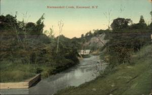 Kenwood NY Normanskill Creek c1910 Postcard #5