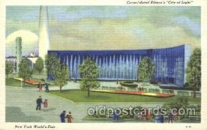Consolidated Edison's City of Light 1939 New York USA Worlds Fair Exposition ...