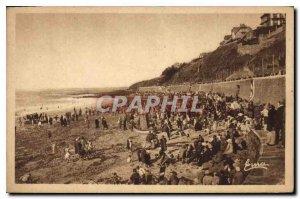 Old Postcard Granville Beach