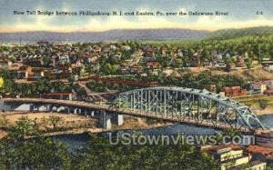 New Toll Bridge  Phillipsburg NJ Unused