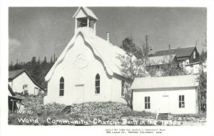 RPPC WX-101 Union Congregational Church, Ward CO Boulder County, Rocky Mt. View