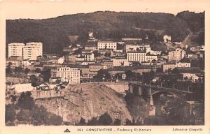 Constantine Algeria, Alger, Algerie Faubourg El Kantara Constantine Faubourg ...