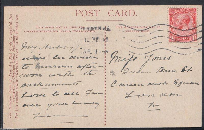 Northamptonshire Postcard - Sulgrave Church - Washington Family Service  RT830