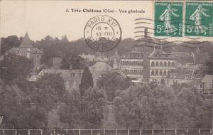 France Tri-Chateau Vue Generale 1923