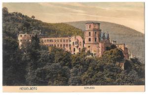 Germany Heidelberg Schloss Castle Cramers Kunstanst Dortmund