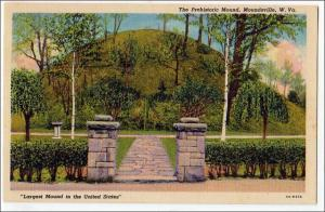 Prehistoric Mound, Moundsville WV