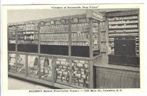 Eckerd's Modern Prescription Counter, Columbia, South Carolina,  40-60s