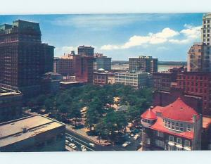 Pre-1980 TENNESSEE CLUB BY DOWNTOWN COURT SQUARE Memphis Tennessee TN F8758