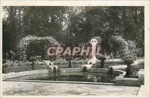 Modern Postcard Bourges Garden Pres Fichaux The Fontina God Pan