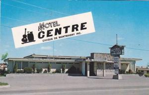 H/Motel Centre Civique MONTMAGNY , Quebec , Quebec  , Canada , 1950-60s