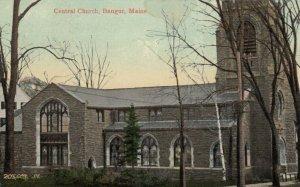 BANGOR, Maine, 1909; Central Church