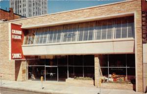 Battle Creek Michigan~Calhoun Federal Savings & Loan Assoc~Record Lounge~1950s