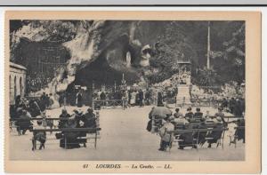 France; Lourdes, The Cave PPC Levy Et Neurdein Reunis, LL 61, Unused
