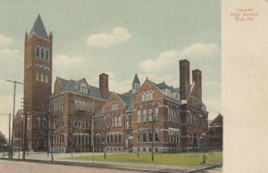 ERIE , Pennsylvania, 1900-10s ; Central High School