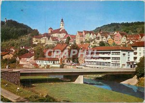 Modern Postcard Kreuz kirche