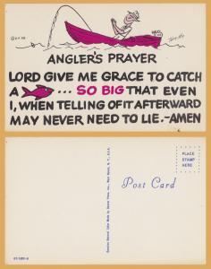 Comic-Angler's Prayer -