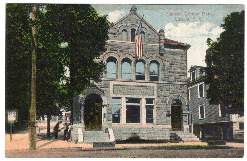 Liberty, N.Y., Sullivan Count Bank