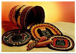 Hopi Indian Wicker Baskets