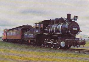 6100 Manitoba and Saskatchewan Mines Company Locomotive With Coach & Caboose