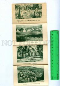 189044 POLAND Polanica Kudowa Duszniki Old set 10 card booklet
