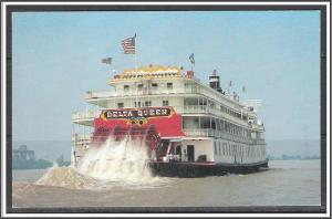 Mississippi Delta Queen Steamboat - [MS-014]