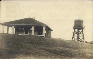 Yarmouthport Cape Cod MA Cancel 1911 Building & Water Tank c1910 RPPC