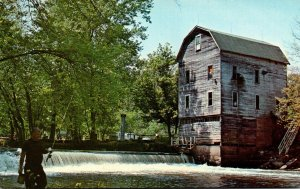 Indiana Poland Cagles Old Water Power Mill