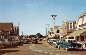 Watch Hill Rhode Island main thoroughfare business district vintage pc ZA440516