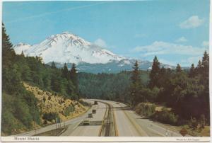 Mount Shasta, Northern California, 1980 used Postcard
