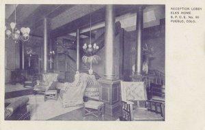 PUEBLO , Colorado, 1901-07 ; Lobby, Elks Home