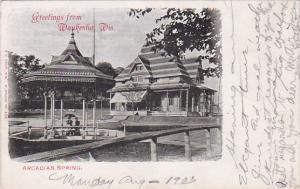 WAUKESHA , Wisconsin , PU-1903 : Arcadian Spring