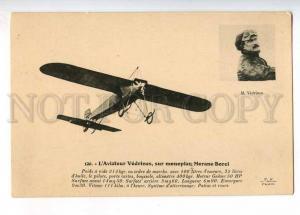 233145 FRANCE AVIATION airplane Morane-Borel pilot VEDRINES