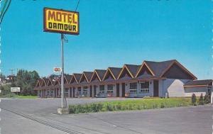 Exterior View, Motel Damour, Riviere-Du-Loup, Quebec, Canada, PU-1989