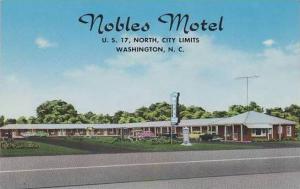 North Carolina Washington Nobles Motel