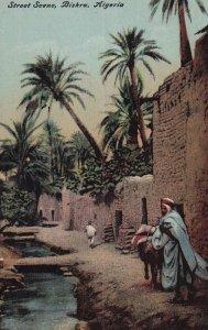 BISKRA, Algeria, 1900-1910s; Street Scene