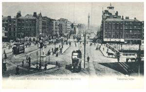 Ireland   Dublin  O'Connor Bridge and   Sackville St.