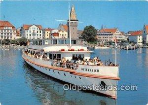 MS Osterreich Ship Hafen Von Lindau Unused